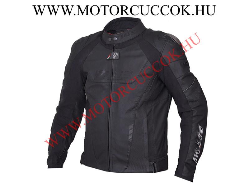 4d3ea2f836 Plus Racing Arrow motoros bőrkabát titán vállprotektorral fekete |  MotorCuccok.hu