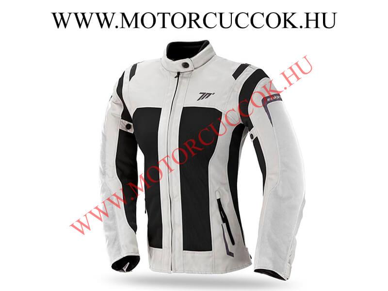 ecd71b7884 Seventy Degrees női nyári légáteresztős motoros kabát fekete/világos szürke