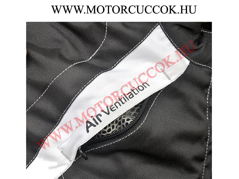 23c46d7568 Plus Racing Sarah Lady kordura kabát (fehér/fekete) | MotorCuccok.hu